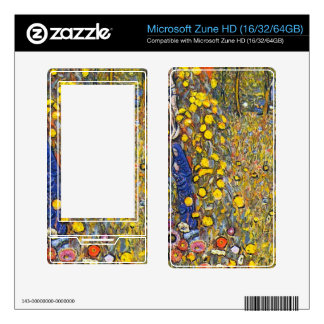 Farmers garden with crucifix by Gustav Klimt Decal For The Zune HD
