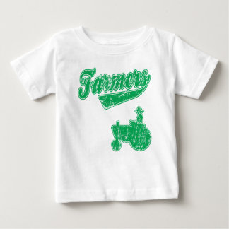 Farmers Green Tractor Baby T-Shirt
