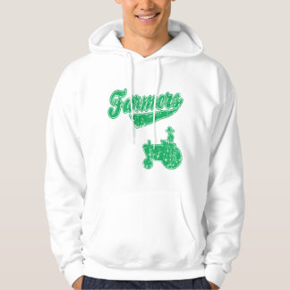 Farmers Green Tractor Hoodie