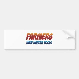 Farmers Have Harder Tools Bumper Sticker