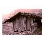 Farmers hut post cards