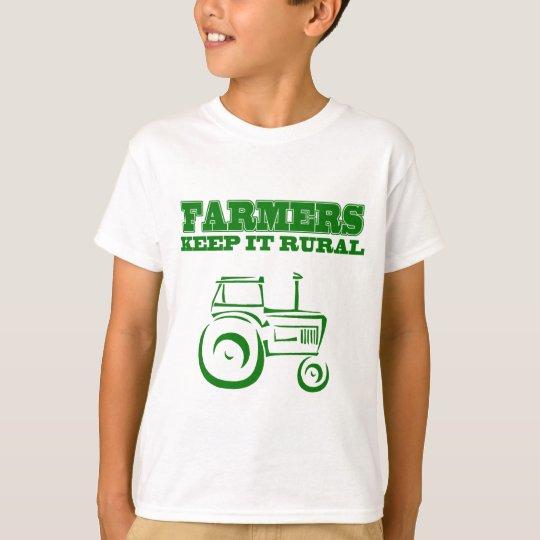 Farmers Keep It Rural T-Shirt
