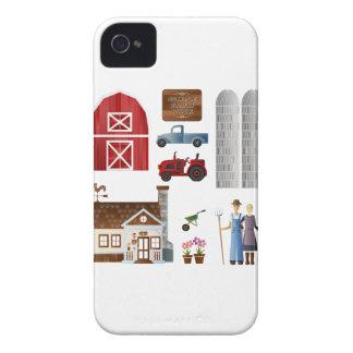 Farmer's life Case Case-Mate iPhone 4 Case