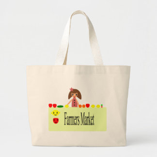 Farmers Market 2.0 51Z Large Tote Bag
