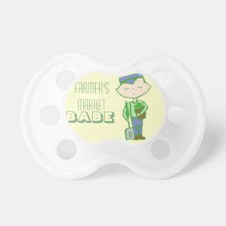 Farmer's market babe pacifier