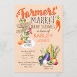 Farmers Market Baby Shower Invitation
