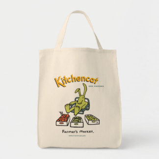 """Farmer's Market"" Grocery Tote Bag"
