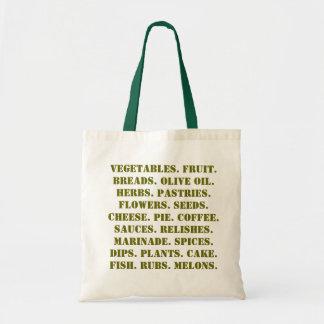 farmers market budget tote bag
