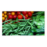 Farmers Market Double-Sided Standard Business Cards (Pack Of 100)
