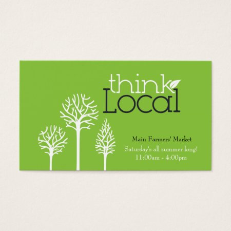 Orchard Farming and Fruit Growers Business Card Template