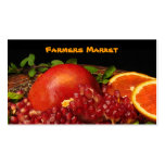 Farmers Market Business Cards