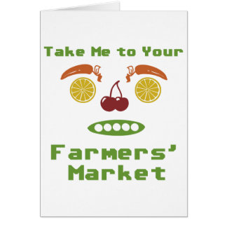 Farmers Market Card