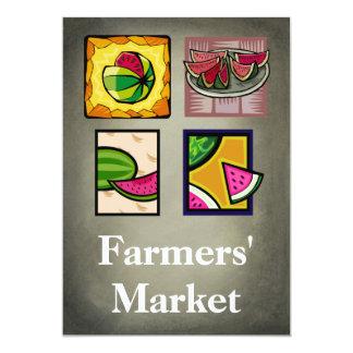 Farmers' Market Card