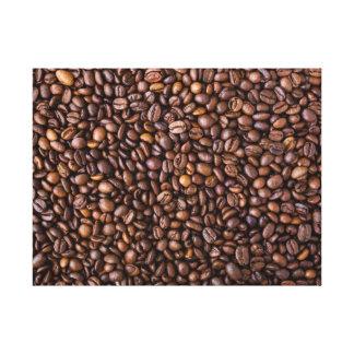 Farmer's Market: Coffee Beans. Canvas Print