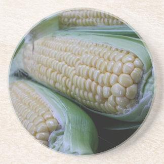 Farmers Market Corn Coaster