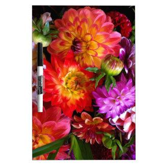 Farmers market flowers Dry-Erase board