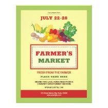 Farmers Market Flyer Template