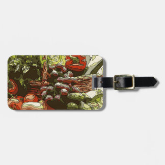 Farmers Market Fresh Fruits and Vegetables Tag For Luggage