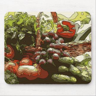 Farmers Market Fresh Fruits and Vegetables Mousepad
