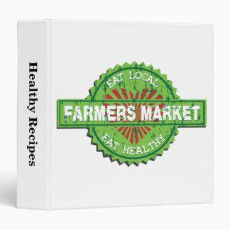 Farmers Market Heart Binders
