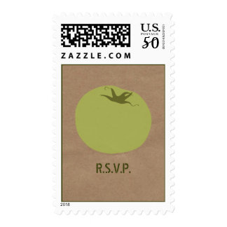 Farmers Market Inspired R.S.V.P. Green Tomato Postage