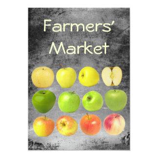 Farmers' Market 5x7 Paper Invitation Card