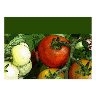 Farmer's Market Large Business Cards (Pack Of 100)