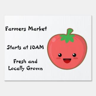 Farmers Market Lawn Sign
