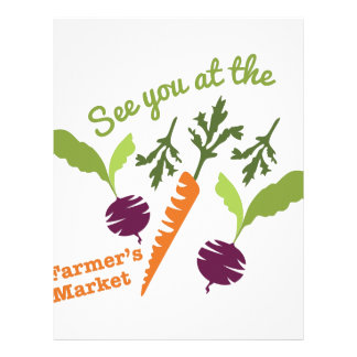 Farmers Market Letterhead