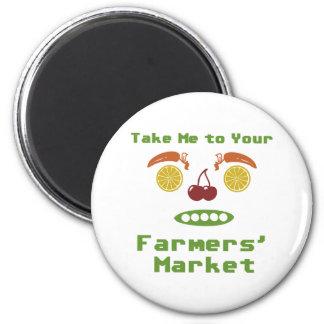 Farmers Market Magnet