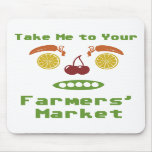 Farmers Market Mouse Pads