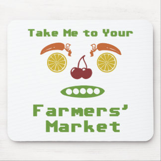 Farmers Market Mouse Pad