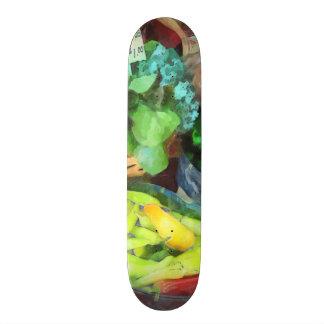 Farmer's Market - Peppers and String Beans Skate Decks