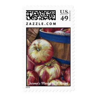 Farmer's Market Postage Stamp