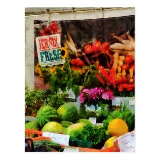 Farmer's Market Post Cards