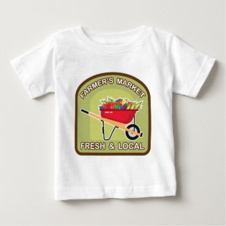 Farmer's Market Sign Fresh and Local Baby T-Shirt