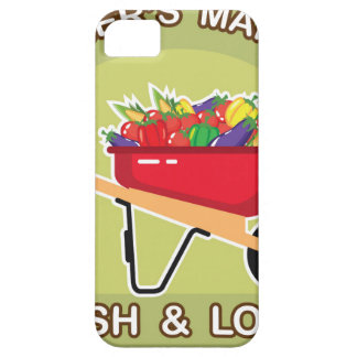 Farmer's Market Sign Fresh and Local iPhone SE/5/5s Case
