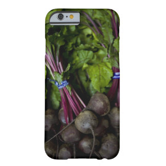 farmers market stand with various produce/ 2 barely there iPhone 6 case