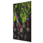 farmers market stand with various produce/ 2 canvas print