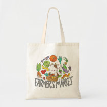 FARMER'S MARKET tote bag by Nicole Janes