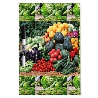 Farmers market veggie delight chefs cuisine ideas Dry-Erase board