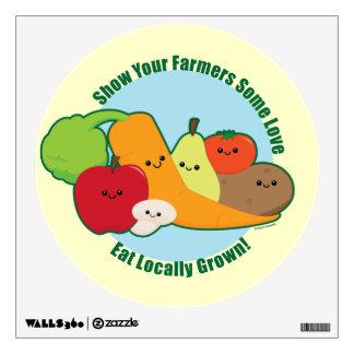 Farmers Market Wall Sticker