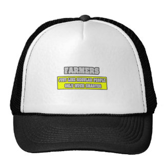 Farmers...Much Smarter Mesh Hat
