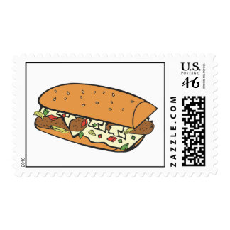 Farmers omelet postage stamps