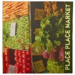 Farmers Produce- The Pike Place Market Napkin