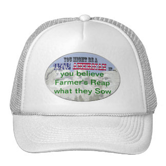 farmers reap what they sow trucker hats