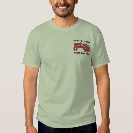 Farmers Retirement Gifts Embroidered T-Shirt