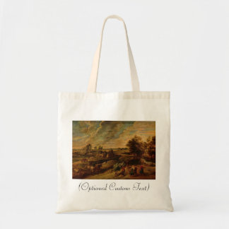 Farmers Returning from the Fields Budget Tote Bag