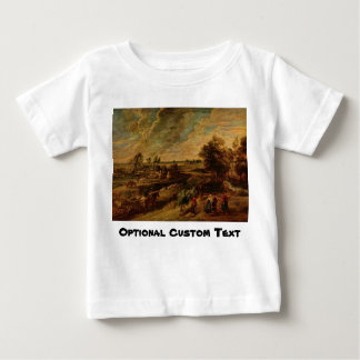 Farmers Returning from the Fields Infant T-shirt