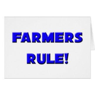 Farmers Rule! Card
